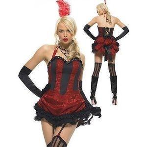 Leg Avenue Burlesque Costume